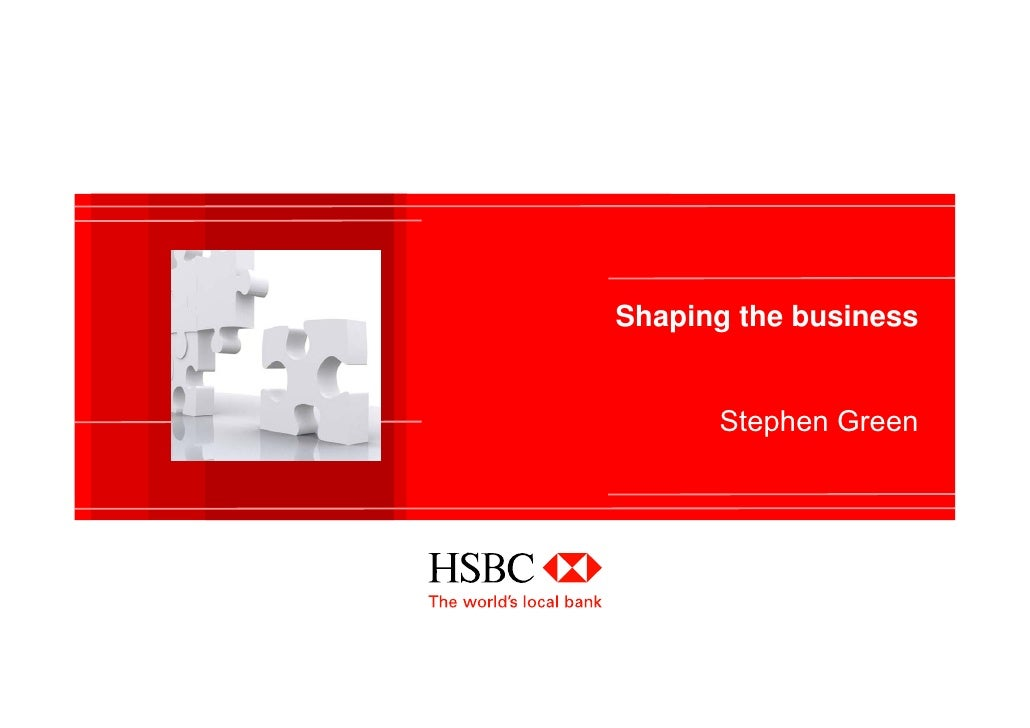 hsbc and strategy