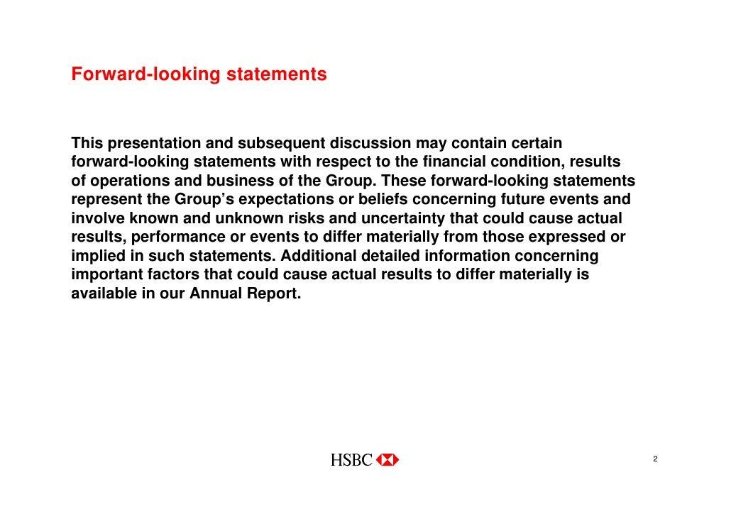 hsbc vision statement