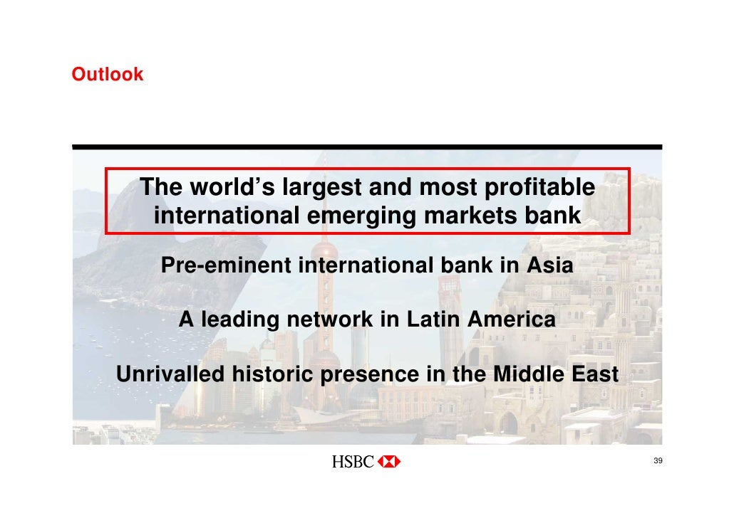 HSBC Our Vision