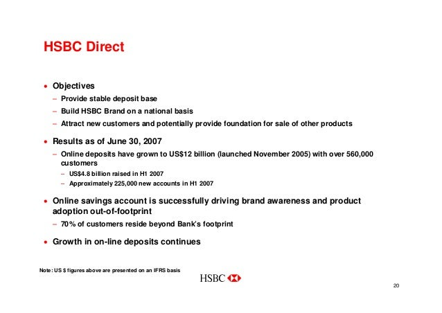HSBC in North America