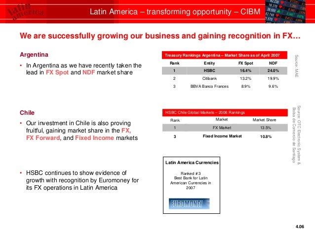 HSBC Latin America - transforming opportunity