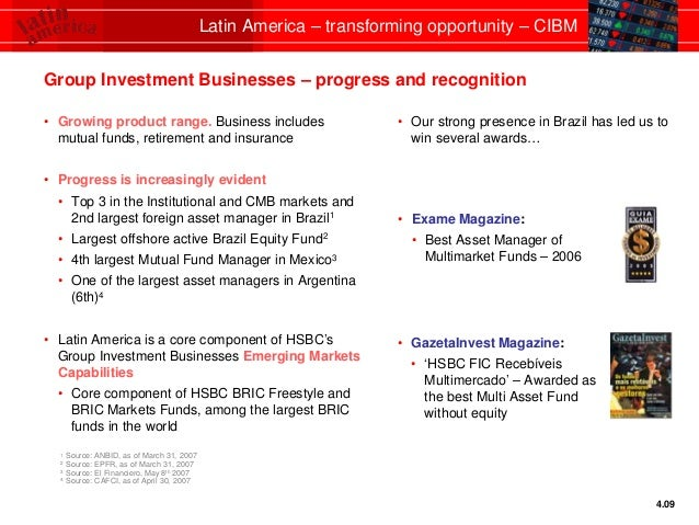 HSBC Latin America - transforming opportunity