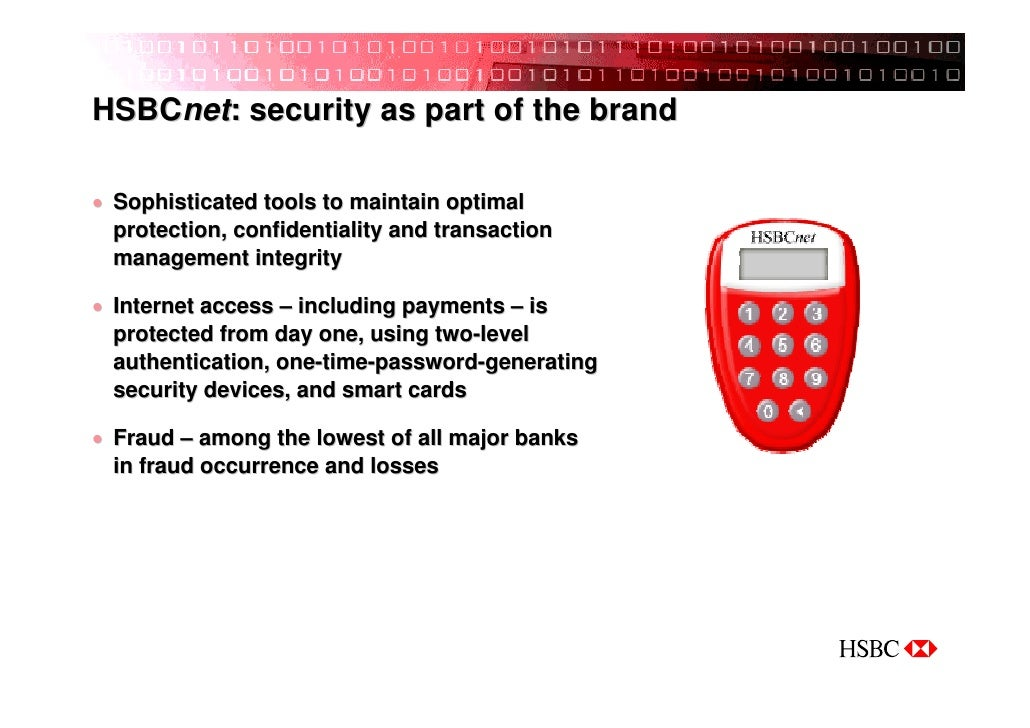 HSBC Take IT to the Bank