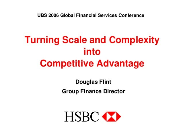 hsbc turning scale and complexity into competitive advantage rh slideshare net