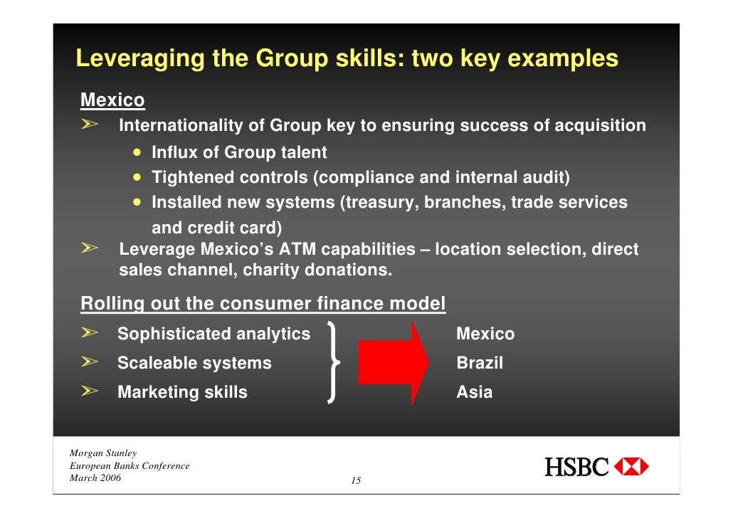 HSBC Holdings plc – The World's Local Bank