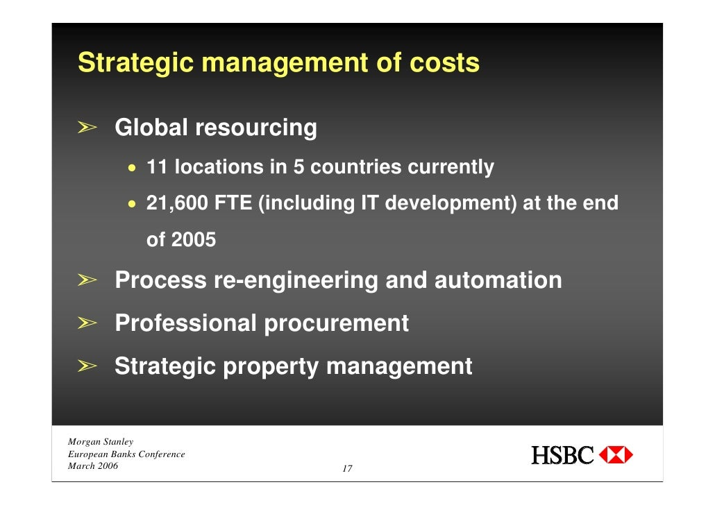 Hsbc Business Process Reengineering