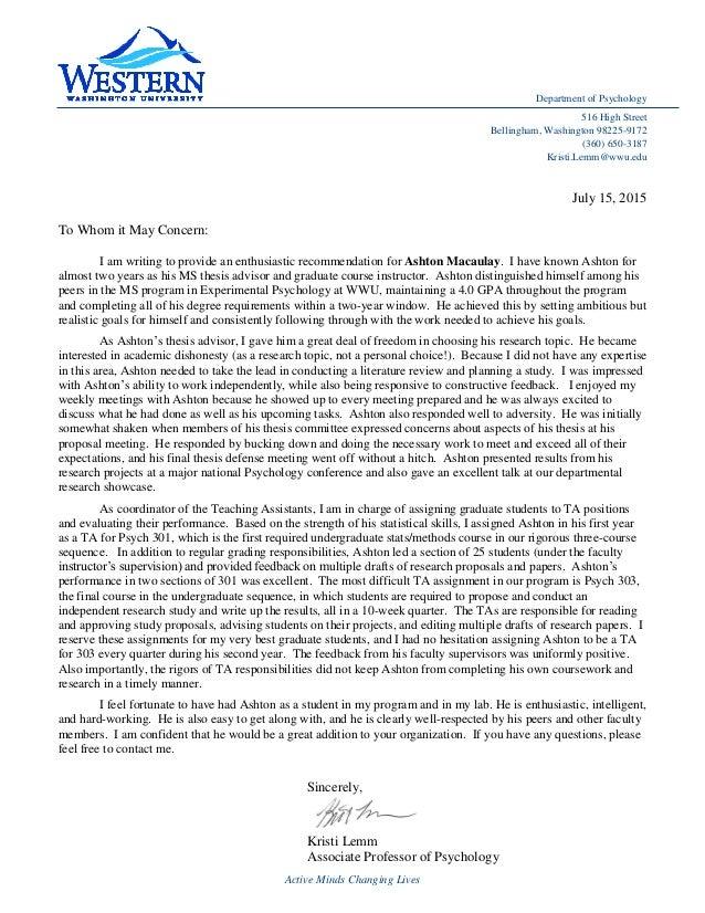 letter dissertation committee members