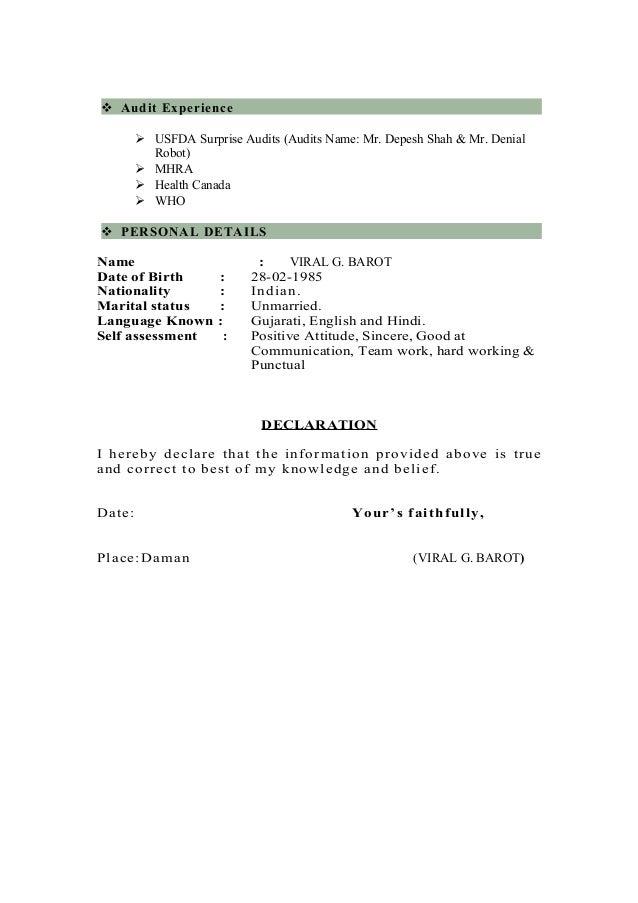 viral resume updated jul 06 2016