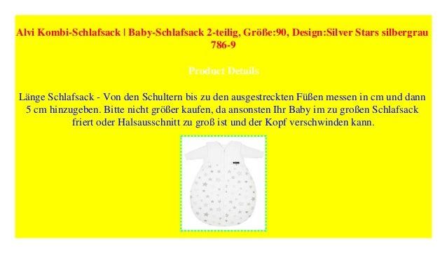 huge discount 51c60 9c2e5 Alvi Kombi-Schlafsack   Baby-Schlafsack 2-teilig, Größe:90 ...