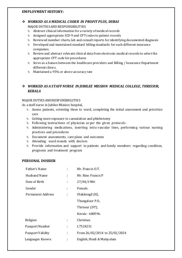 Professional Medical Coder Resume Professional Medical Coding Resumes And  Job Candidates Medical Billing And Coding Resume