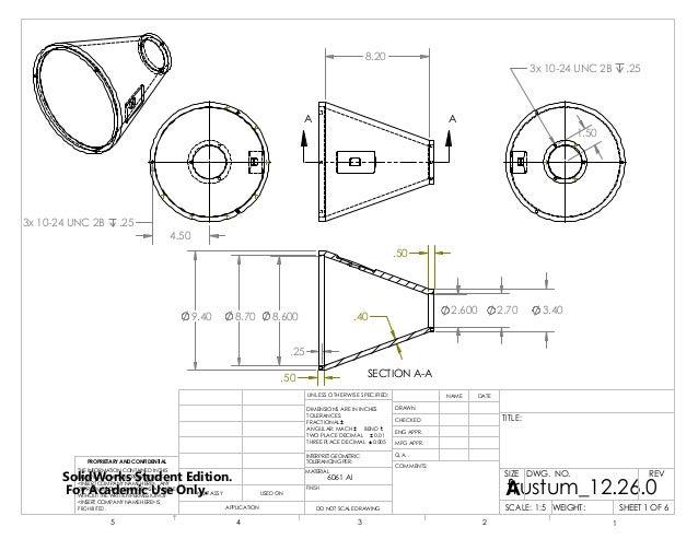 engineering drawings  spherical ended frustumpdf