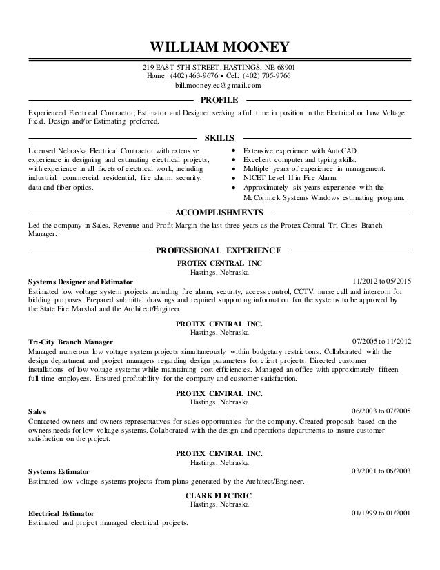 electrical estimator cv gayathri experienced resume