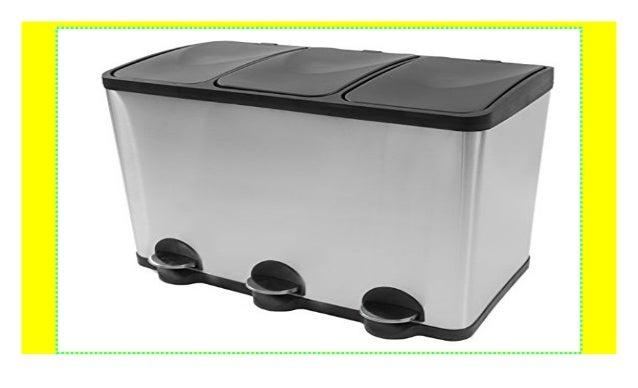 Mülleimer Küche Mülltrennung mit Inneneimer (60 Liter ...