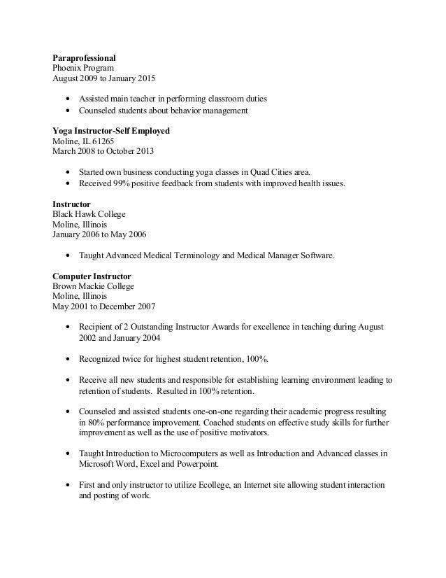 tanesh u0026 39 s 2016 teaching resume