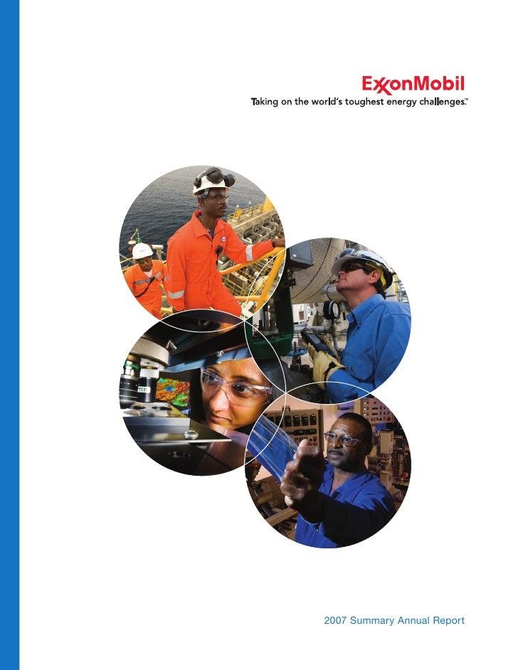 2007 Summary Annual Report