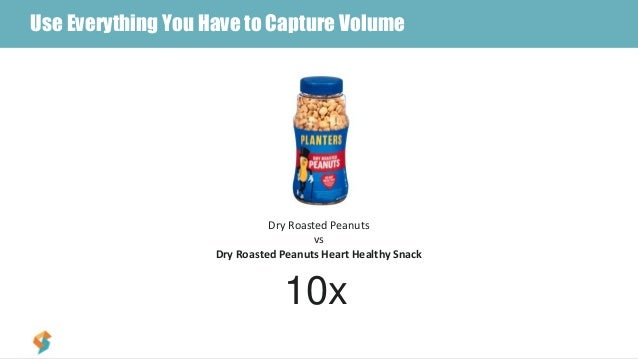 #3 – Include Top Searched Terms in TitleUse Everything You Have to Capture Volume Dry Roasted Peanuts vs Dry Roasted Peanu...