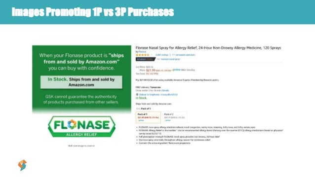 Images Promoting 1P vs 3P Purchases