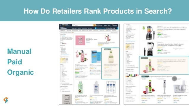Get Found Manual Paid Organic How Do Retailers Rank Products in Search?