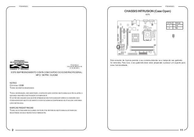 PW-945GCL PW-945GCL 2 11 ESTE EMPREENDIMENTO CONTACOM OAPOIO DO GOVERNO FEDERAL: MPO / SEPRE / SUDAM Produzido por CGC84.4...