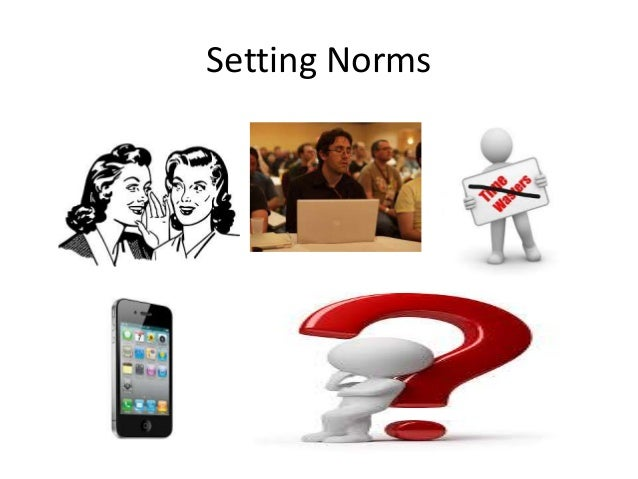 Setting Norms