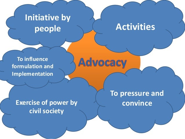 Advocacy refers to organized efforts by citizens to influence the formulation and implementation of public policies and pr...