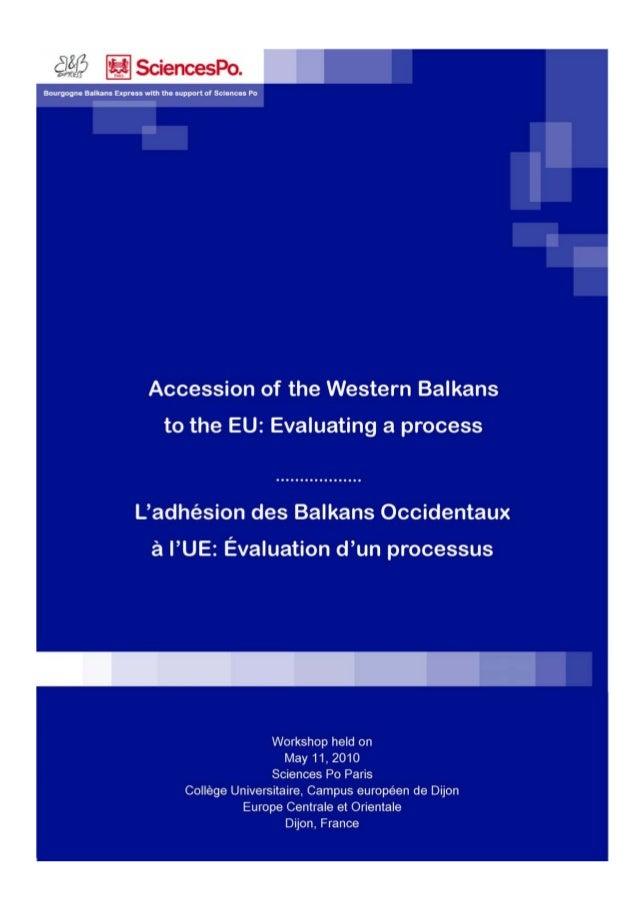 L'association Bourgogne Balkans Express avec le soutien du Campus européen de Dijon, Europe centrale et orientale, de Scie...