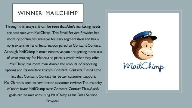 email marketing showdown mailchimp vs constant contact