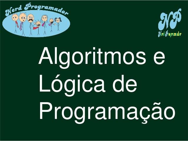 ddf Algoritmos e Lógica de Programação
