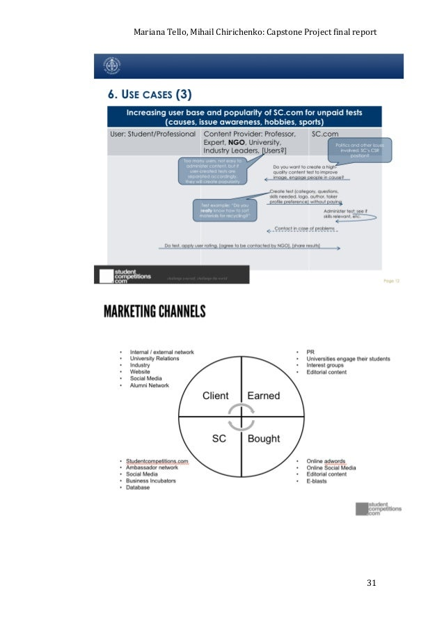 capstone courier A ssess your product line's marketing mix: the data necessary to evaluate each of your 5 brands can be found in the capstone courier-- pages 5 thru 9.