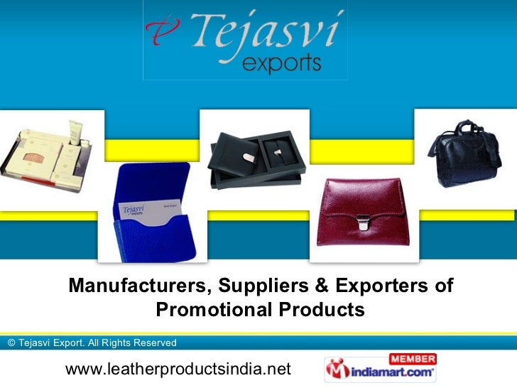 Manufacturers, Suppliers & Exporters of Promotional Products