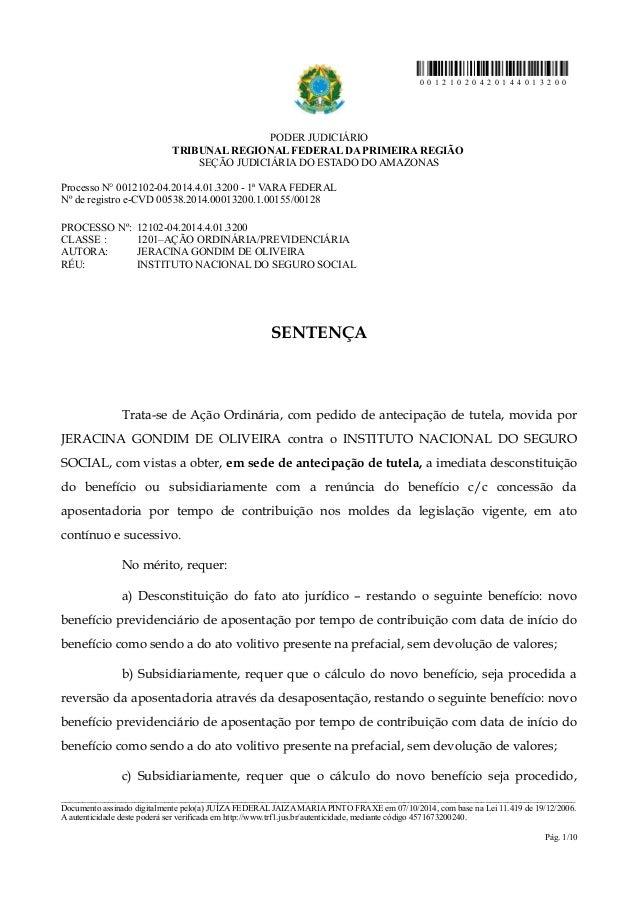 0 0 1 2 1 0 2 0 4 2 0 1 4 4 0 1 3 2 0 0  PODER JUDICIÁRIO  TRIBUNAL REGIONAL FEDERAL DA PRIMEIRA REGIÃO  SEÇÃO JUDICIÁRIA ...