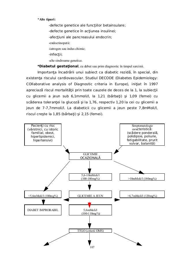valori normale glicemie diabet tip 2