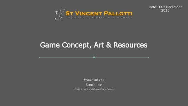 Game Concepts and Art Resources