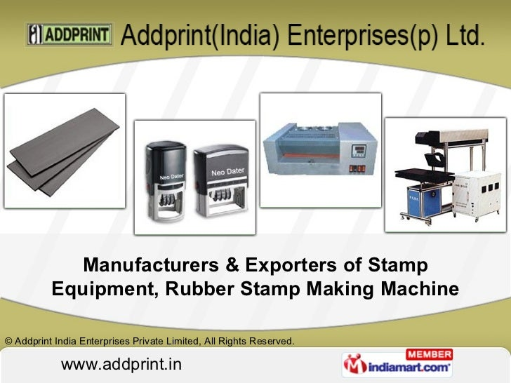 manufacturers exporters of stamp equipment rubber stamp making machine - Card Making Machine