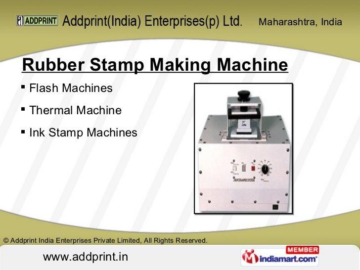 5 UlliRubber Stamp Making Machine