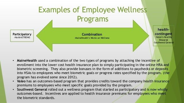 health improvement programs for employees incentives and consequences Most employees with access to workplace wellness programs say they have  made a positive impact on their health, even though a majority are  yet many  employees underestimate available wellness incentives  of respondents are  unwilling to devote at least an hour per day to improving their health.