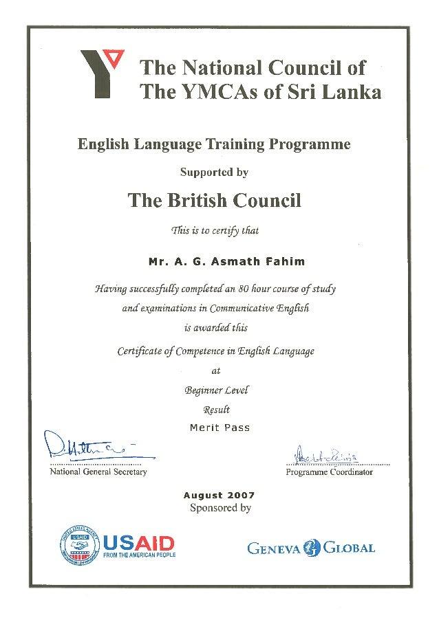 British Council ELTP