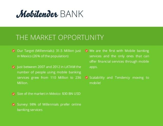 BANK IS: MOBILE LENDING1 MOBILE DEBIT ACCOUNT2 DEBIT