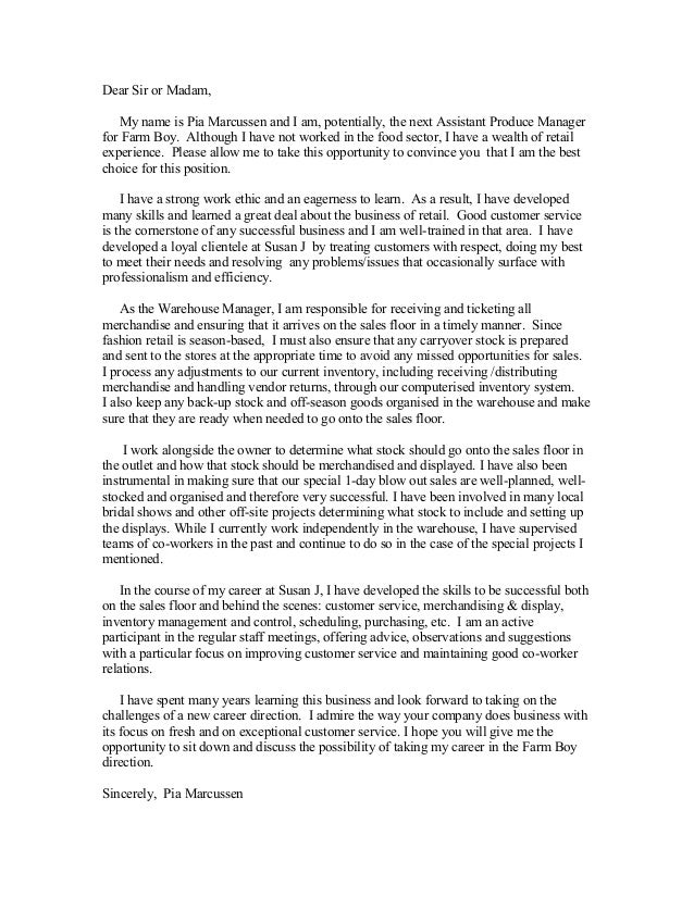 cover letter bfarm