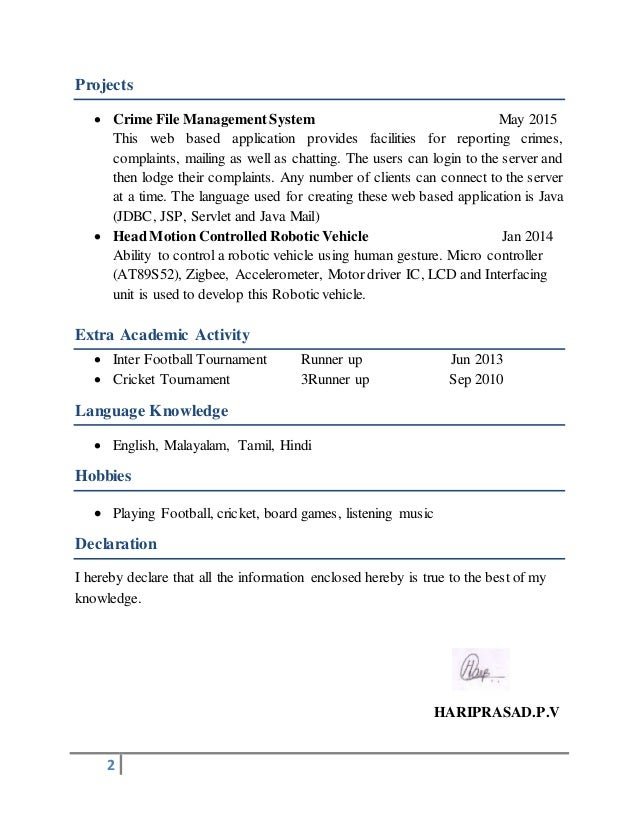 2 Projects  Crime File ManagementSystem May 2015 This web based application provides facilities for reporting crimes, com...