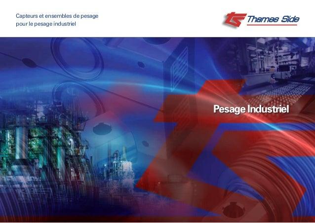 Pesage Industriel Capteurs et ensembles de pesage pour le pesage industriel
