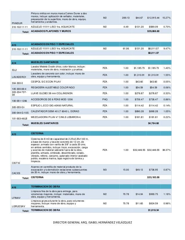 9502032 presupuesto de casa habitacion