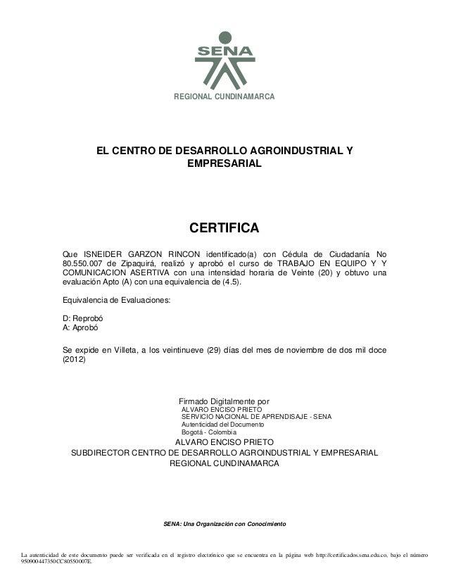 S                                                             REGIONAL CUNDINAMARCA                              EL CENTRO...