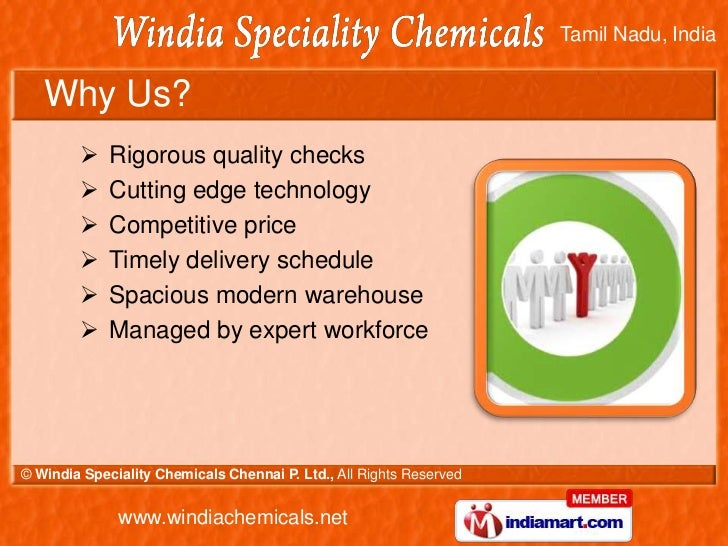 Bromine Chemicals by Windia Speciality Chemicals Chennai P. Ltd. Chennai Slide 3