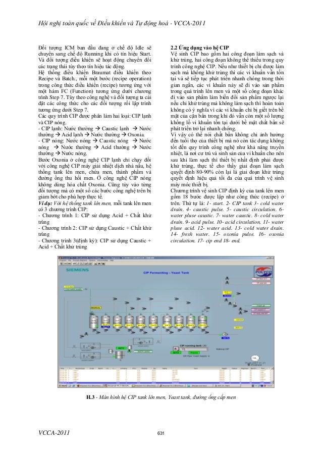 Hội nghị toàn quốc về Điều khiển và Tự động hoá - VCCA-2011 VCCA-2011 Đối tượng ICM ban đầu đang ở chế độ Idle sẽ chuyển s...