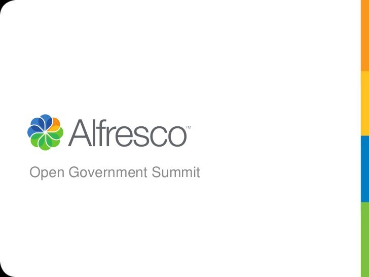 Open Government Summit