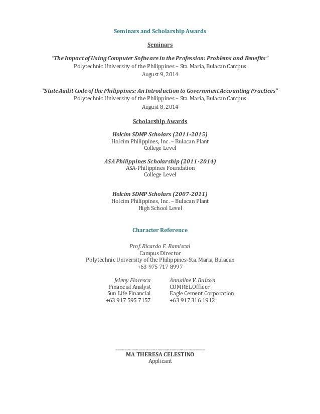 BS-Accountancy Graduate (Resume)