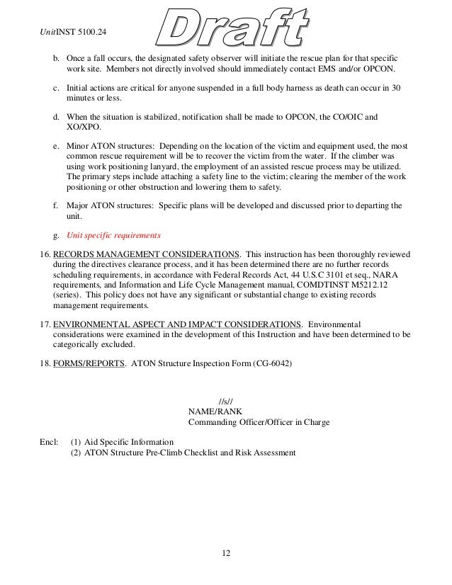 Fall Protection Plan Example Template