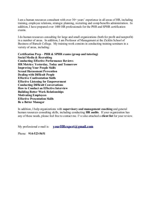 Marketing Letter Hr 1