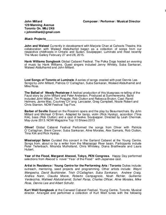john u0026 39 s resume february 2015